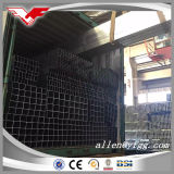 Quadrato nero della costruzione di Q235B e tubi d'acciaio rettangolari