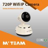 Radio barata de la cámara del IP de la red de WiFi pinta de la tarjeta del P2p SD de las energías bajas (H100-Q6)