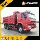 Luz de 6X4 HOWO caminhão basculante com capacidade de 25 toneladas