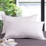 100% de tecido de algodão flanela Hotel travesseiro (DPF060972)