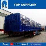 Véhicule de titan - de 3 essieux de cargaison remorque semi dans la remorque de camion