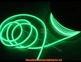 De draagbare Openlucht12V Groene ultra-Slanke LEIDENE Flexibele Lichten van het Neon