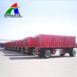 3 assi 50 tonnellate di carico di trasporto di tiraggio di rimorchio della barra