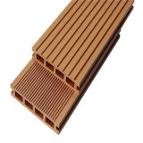 Decking composé en plastique en bois du plancher WPC de piscine de panneau