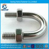 Grau 8.8 4.8 Bolo de aço inoxidável de aço inoxidável HDG zincado Aço inoxidável Ss316 Ss304 B8 B8m U Bolt