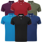 Camisas de polo de encargo suaves al por mayor 100%Cotton (A309)
