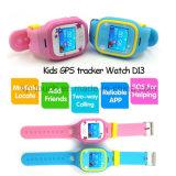 Traqueur sec de montre de gosse populaire avec la fonction de SOS (D13)