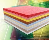 Ce одобрил панель стены волокна полиэфира любимчика 100% акустическую (звукоизоляционную)