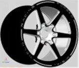 """Kunxi 16 6개의 스포크를 가진 """" 17의 """" 18inch SUV 합금 바퀴"""