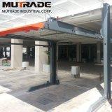 Hidráulico-Parque auto 1123 de la elevación del estacionamiento del espacio doble de los coches del poste 2 de las capas dobles dos