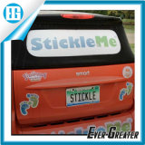 Kundenspezifischer doppelter seitlicher Pinring erhältlicher entfernbarer Static haften Aufkleber-Fenster-Film für Auto an