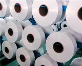 Het maagdelijke gedeeltelijk Georiënteerd van het Garen van de Gloeidraad van de Polyester Ruwe Wit van het Garen voor het Maken van Dekens en Andere TextielStoffen