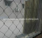 ステンレス鋼ロープのケーブルによって編まれる動物の動物園