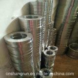 L'acciaio dell'ANSI SS304 ha forgiato le flange piane della flangia di piatto per gli accessori per tubi