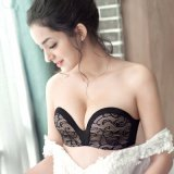 Bustier Pushup Backless Seamless Lady Sexy Bra