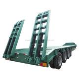 낮은 침대 트레일러 3 차축 80-100 톤