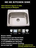 Wanne, Küche-Wanne, Spitzenmontierungs-Wanne, handgemachtes Sink6456A