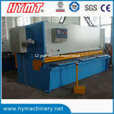 Машинное оборудование вырезывания режа машинного оборудования гидровлической гильотины QC11Y-6X4000 & стальной плиты