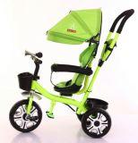 Venda por grosso de 3 rodas barata de triciclo para crianças com assento giratório