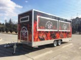 Caravana alimentar, Cozinha Truck, catering, recordações, Oficina móvel, Office, Reboque de qualidade.