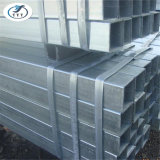Edificio de construcción, tubo de acero galvanizado
