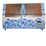 傾いた単位で構築されるを用いるドアによって袋に入れられる氷のマーチャンダイザー