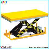 На стоящем автомобиле для тяжелого режима работы подъемной платформы Ylf1001