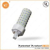 12W LED軽い36W CFLの置換Gx24D 2 PinのトウモロコシライトLED