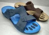 Tomaia del PVC del sandalo della spiaggia dei pistoni di EVA