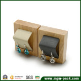 Venda por grosso de madeira Soild Personalizado jóias suporte de ecrã