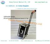 Color portable Doppler de la maneta del equipamiento médico 3D de la aprobación del Ce
