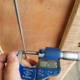 Haarvat van het Roestvrij staal van SS304 316L het Naadloze 8mm Od