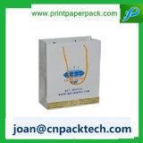리본 손잡이 Kraft 종이 봉지를 인쇄하는 선물 쇼핑 Cmyk