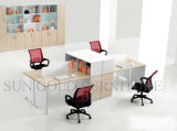 Four Persons (SZ-WSL330)를 위한 Fabric Partition Workstation를 가진 알루미늄 Frame