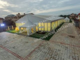 15X30m do teto Branco Marquee tenda tenda a cerimônia de Design