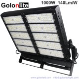 2000W金属ゴルフコースのコオロギのフットボールのサッカー競技場裁判所のためのHalide LEDの置換1000W LEDの洪水の照明設備