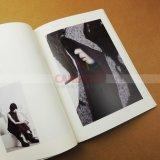 Libro de la revista enlazado de coser la impresión de catálogos