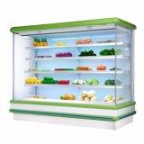système de refroidissement à distance de supermarché ouvert chiller