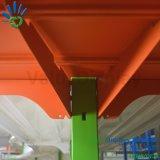 Muti Schicht-Metallsupermarkt-Fußboden-Standplatz-Fach-Zahnstangen