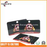 Карточка магнитной нашивки контроля допуска с свежим материалом PVC