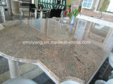 Polished White Granite Countertop для Kitchen/ванной комнаты (YQC-GC1002)