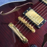 A dupla F buracos Rosewood Fingerboard guitarra elétrica de Qualidade (SE-7)