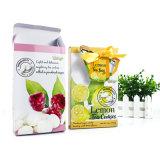 Los alimentos Pack Caja de papel con el té de limón el nudo de cinta de la bolsa de cuadro de diseño personalizado