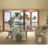 Puerta plegable Bi alta calidad bien de aluminio del diseño para Villa (FT-D75)