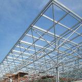Neues Entwurfs-billig vorfabriziertes Stahlkonstruktion-Gebäude