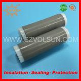 Гибкий защищаемый трубопровод Shrink силиконовой резины кабеля холодный