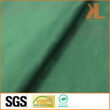 Poliéster Inherentemente Fire / Flame Retardant Fireproof Tecido de cetim verde