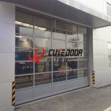 Двери гаража самомоднейшей конструкции просто шикарные автоматические алюминиевые прозрачные