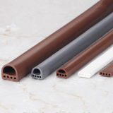 El aislamiento acústico de espuma de caucho de silicona esponja/Perfil de puerta de madera