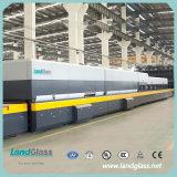 Landglass plano/planta de cristal del horno del endurecimiento del edificio de la curva